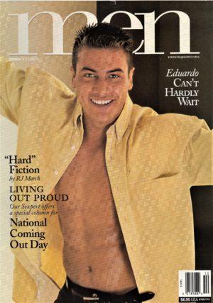 MEN Magazine (October 2000) Male Erotic Magazine