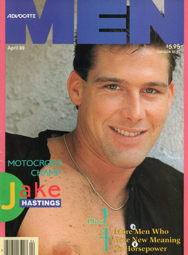 ADVOCATE MEN Magazine (April 1989) Male Erotic Magazine