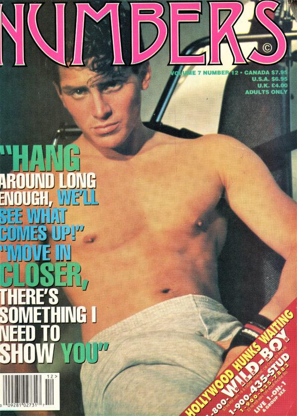 NUMBERS Magazine (December 1995, Volume 7, Number 12) Erotic Men Magazine