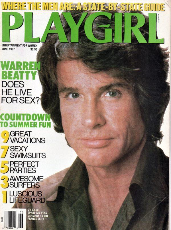 PLAYGIRL Magazine (June 1987) Erotic Men Magazine