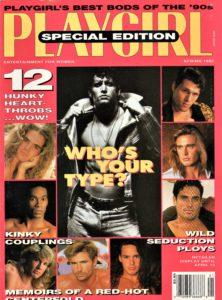 PLAYGIRL Magazine (Spring 1992) Erotic Men Magazine