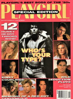PLAYGIRL Magazine (Spring 1992) Erotic Men Magazine