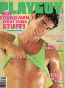 PLAYGUY Magazine (November 1988) Gay Pornographic Magazine