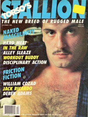 STALLION Magazine (December 1988) Gay Male Lifestyle Magazine