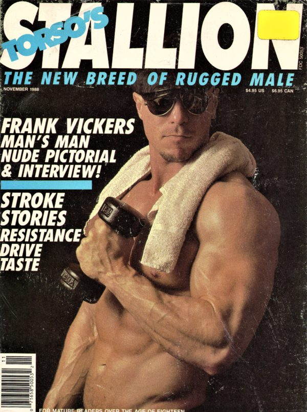 STALLION Magazine (November 1985) Gay Male Lifestyle Magazine