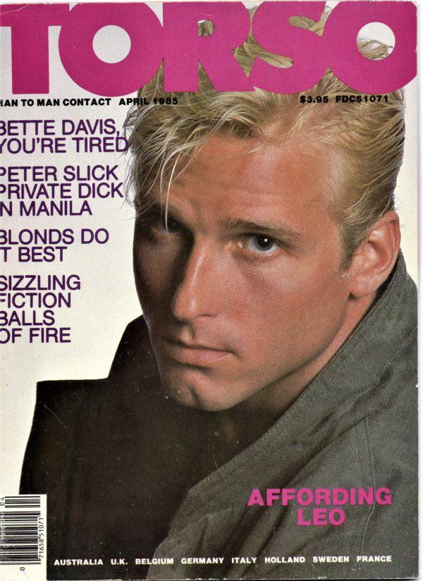 TORSO Magazine (April 1985) Gay Male Digest Magazine