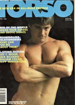 TORSO Magazine (April 1988) Gay Male Digest Magazine