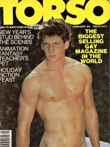 TORSO Magazine (January 1985) Gay Male Digest Magazine