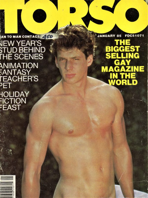 TORSO Magazine (January 1985) Gay Male Digest Magazine