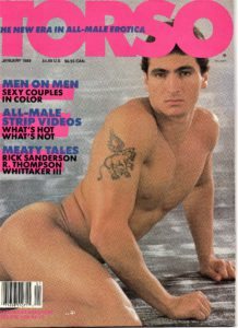 TORSO Magazine (January 1988) Gay Male Digest Magazine