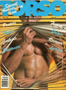 TORSO Magazine (July 1987) Gay Male Digest Magazine