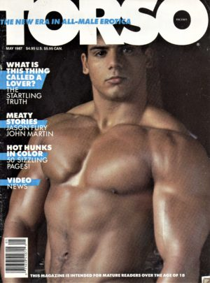 TORSO Magazine (May 1987) Gay Male Digest Magazine