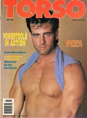 TORSO Magazine (May 1992) Gay Male Digest Magazine