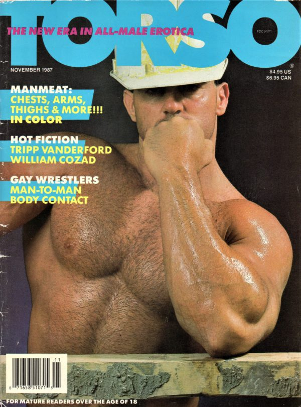 TORSO Magazine (November 1987) Gay Male Digest Magazine