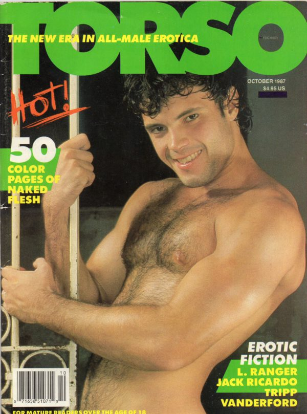 TORSO Magazine (October 1987) Gay Male Digest Magazine