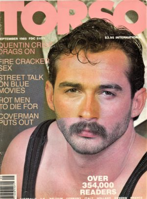 TORSO Magazine (September 1985) Gay Male Digest Magazine