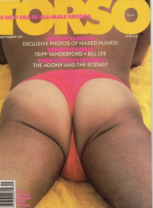 TORSO Magazine (September 1987) Gay Male Digest Magazine