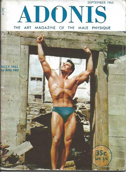 ADONIS - September 1960 - Body Building Magazine