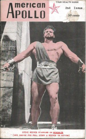 1958 AMERICAN APOLLO Magazine 2nd Issue - Male Physique Posing Gay Interest Beefcake