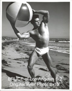 BRUCE of Los Angeles 6-2 Original Print Photo 8x10""