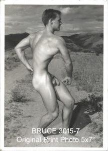 "BRUCE 3015-7 Original Print Photo 5x7"""