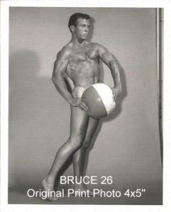 "BRUCE 26 Original Print Photo 4x5"""