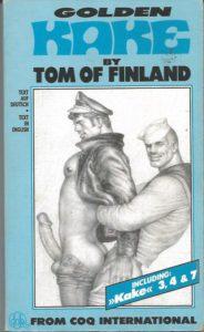 GOLDEN KAKE No.2 by TOM OF FINLAND