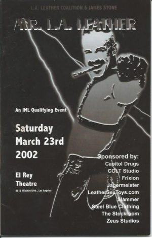 Mr LA Leather 2002