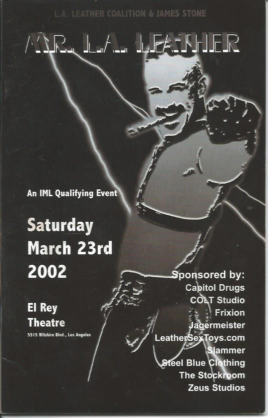 Mr LA Leather 2002