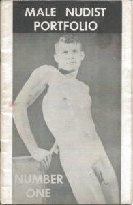 MALE Nudist Portfolio (Photographic Volume) Number One