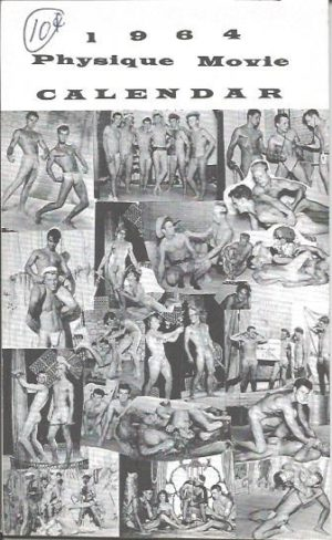1964 Physique Movie Calendar Collection