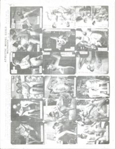 Bob Mizer BULLETIN 66-B Sheet