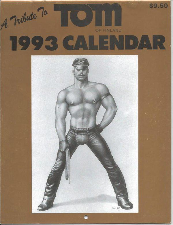 A Tribute to TOM OF FINLAND 1993 CALENDAR