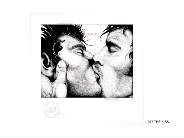 REX - 1977 - THE KISS (Limited Edition Print)