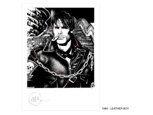 REX - 1984 - LEATHER BOY (Collectible Print)