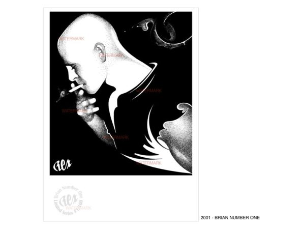 REX - 2001 - BRIAN NUMBER ONE (Limited Edition Print)