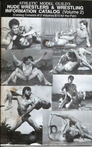 Athletic Model Guild's NUDE WRESTLERS & WRESTLING Information Catalog (Volume 2)
