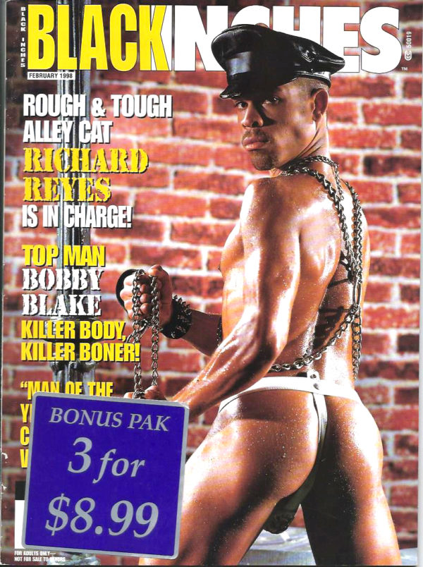 BLACK INCHES Magazine (February 1998) Gay Pictorial Lifestyle Magazine