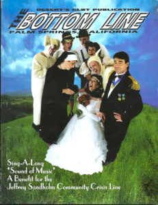 The BOTTOM LINE (January 2002) Desert's Gay Publication, Palm Springs, CA