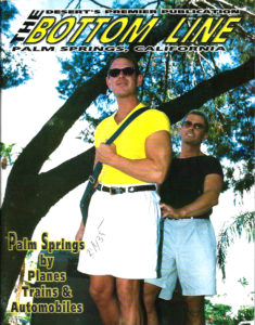 The Bottom Line Magazine, Bottom Line, October 2001, Gay Publication, Palm Springs, Gay Entertainment, Gay Ads, Gay Male Nudes, Gay Adult Images, GayVM, Gay Vintage Magazine,