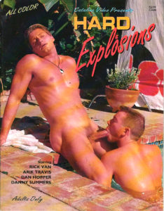 Catalina Video Presents - HARD EXPLOSIONS - Gay Full Color Illustrated Photo Magazine