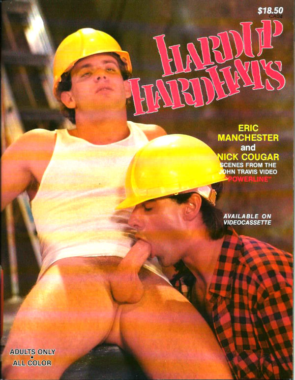 HARD UP HARD HATS - Gay Full ALL Color Illustrated Photo Magazine