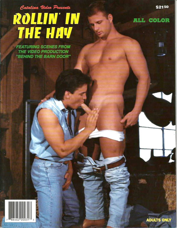 Catalina Video Presents - ROLLIN' IN THE HAY - Gay Full Color Illustrated Photo Magazine