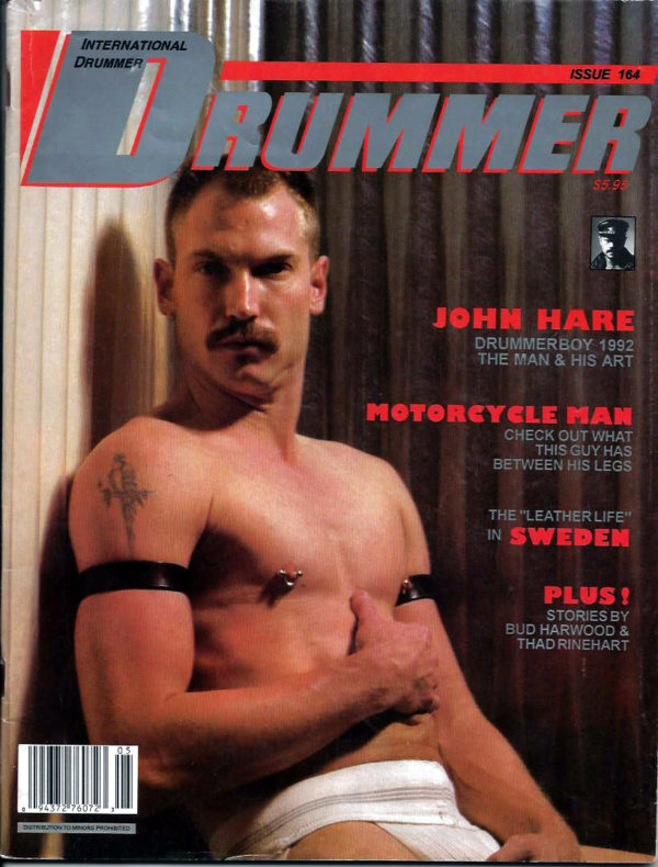 International DRUMMER Magazine (Issue 164) Gay Male Digest Magazine