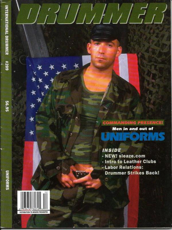 International DRUMMER Magazine (Issue 209) Gay Male Digest Magazine