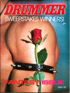 DRUMMER Sweepstakes Winners Magazine (Issue 98) Gay Male Digest Magazine