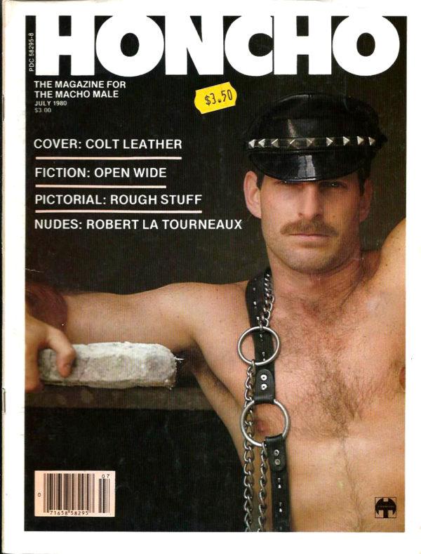 HONCHO Magazine (July 1980) Gay Male Digest Magazine