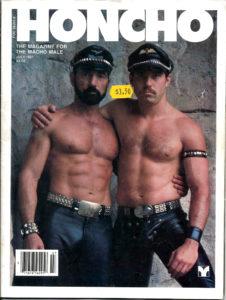 HONCHO Magazine (July 1981) Gay Male Digest Magazine