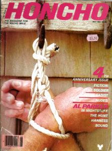 HONCHO Magazine (May 1982) Gay Male Digest Magazine