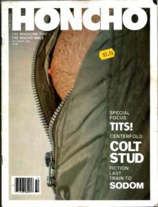 HONCHO Magazine (October 1980) Gay Male Digest Magazine